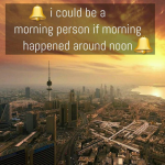 Are you a morning person – funny picture