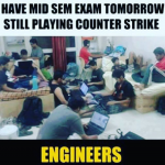 Counter Strike fever in engineers – funny image