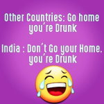 India vs Other countries – funny fact image