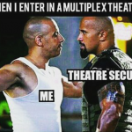 Your entry into multiplex theatre – funny image
