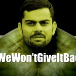 When Kohli turns into a hulk – Ind vs West Indies