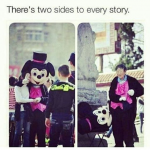 There are two sides of every story – Inspirational image