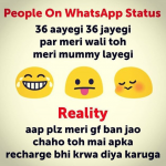 Whatsapp status for a girlfriend – mind blowing