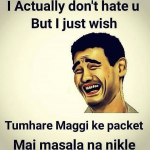 No Maggi Masala in packet – worst wish from a friend