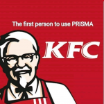 Do you know the first person to use PRISMA – KFC