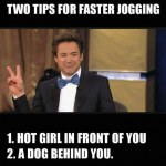 two tips for faster and longer jogging