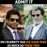 Sachin Tendulkar and Rajnikant – India's biggest celebrities