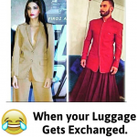 When Sonam Kapoor and Ranveer Singh luggage got exchanged